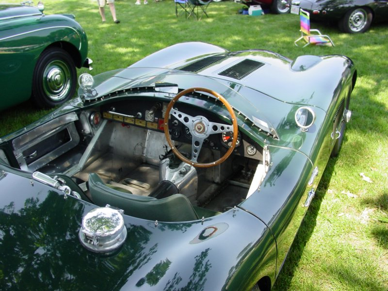 Pictures Of A 1953 Jaguar C Type Replica By Vintage
